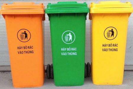 thùng rác nhựa 120 lít quảng ngãi