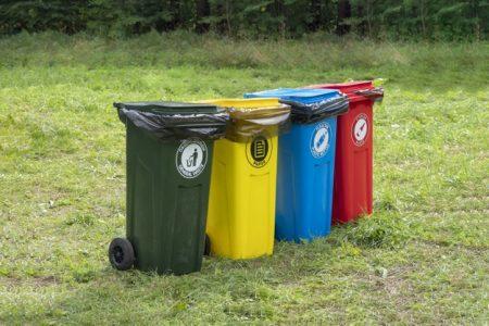 thùng rác ngoài trời quảng ngãi