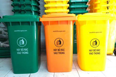 thùng rác 240l quảng ngãi